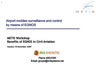 Airport mobiles surveillance and control by means of EGNOS