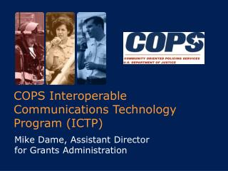 COPS Interoperable Communications Technology Program ICTP