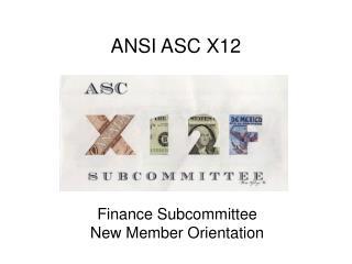 ANSI ASC X12