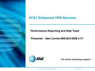 ATT Enhanced VPN Services