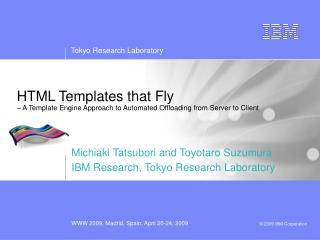 HTML Templates that Fly – A Template Engine Approach to Automated Offloading from Server to Client