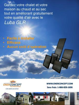 WWW.ENERCONCEPT.COM Sans frais: 1-866-829-1690