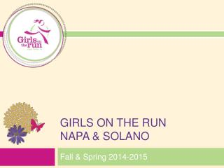 GIRLS ON THE Run  Napa & Solano
