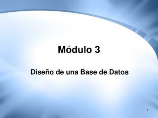 M�dulo 3