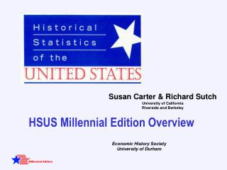 HSUS Millennial  Edition  Over view