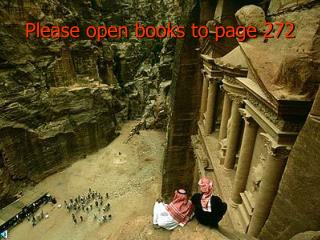 Please open books to page 272
