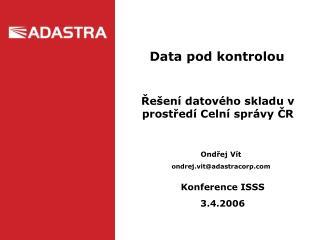 Data pod kontrolou