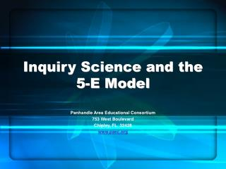 Inquiry Science and the 5-E Model