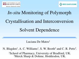 In-situ  Monitoring of Polymorph Crystallisation and Interconversion Solvent Dependence