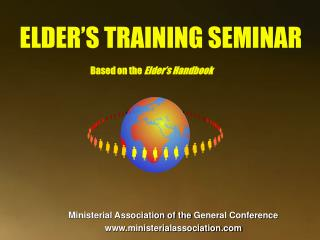 ELDER'S TRAINING SEMINAR