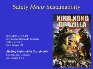 Safety  Meets  Sustainability