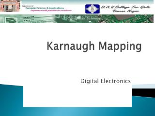 Karnaugh  Mapping