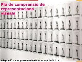 Plà de comprensió de representacions visuals