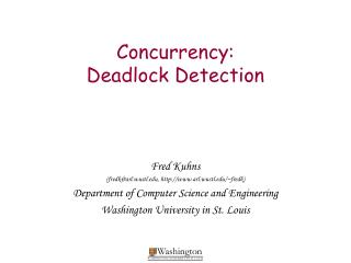 Concurrency:  Deadlock Detection