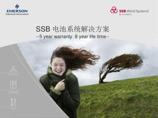 SSB  电池系统解决方案 --5 year warranty  8 year life time--