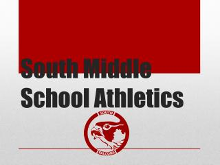 South Middle School Athletics