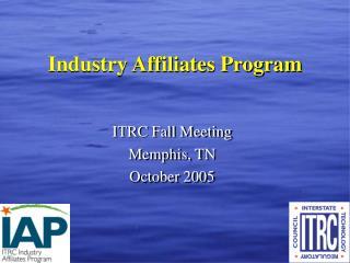 Industry Affiliates Program