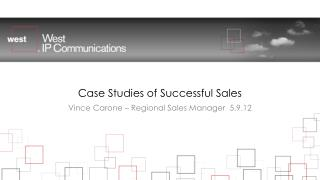 Case Studies of Successful Sales