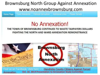 Brownsburg North Group Against Annexation noannexbrownsburg