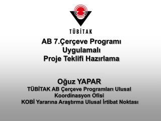 AB 7.Çerçeve Programı Uygulamalı  Proje Teklifi Hazırlama