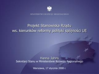 Warszawa, 17 stycznia 2008 r.