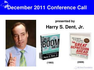 December 2011 Conference Call