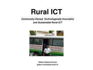 Rural ICT