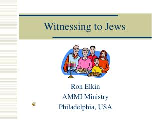 Witnessing to Jews