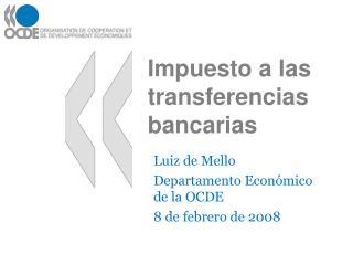 Impuesto a las transferencias bancarias