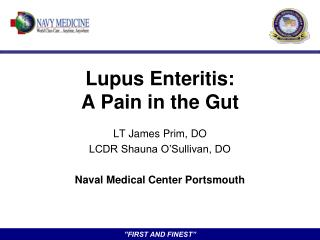 Lupus Enteritis: A Pain in the Gut