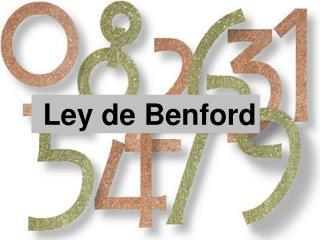 Ley de Benford