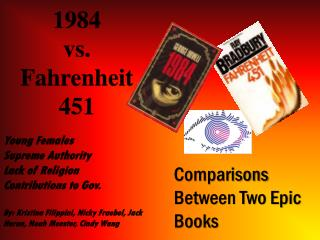 1984 vs. Fahrenheit 451