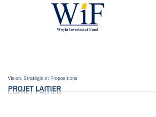 Projet Laitier