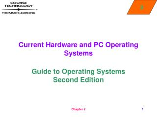 Current Hardware and PC Operating Systems