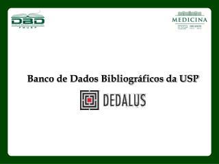 Banco de Dados Bibliográficos da USP
