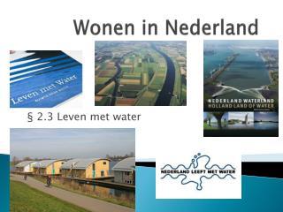 Wonen in Nederland