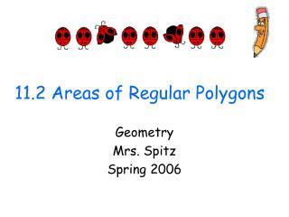 11.2 Areas of Regular Polygons