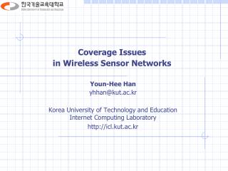 Coverage Issues  in Wireless Sensor Networks
