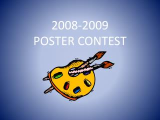 2008-2009 POSTER CONTEST