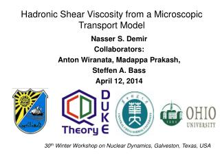 Hadronic  Shear Viscosity from a Microscopic Transport Model