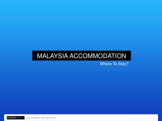 12 - Accomodation