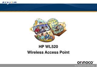 HP WL520 Wireless Access Point