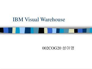 IBM Visual Warehouse