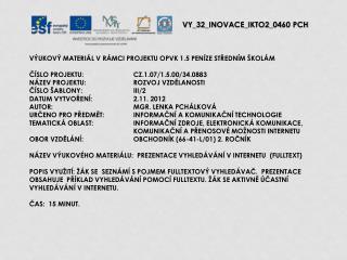 V Y_32_INOVACE_ IKTO2 _ 04 60  PCH