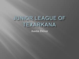 Junior League Of Texarkana