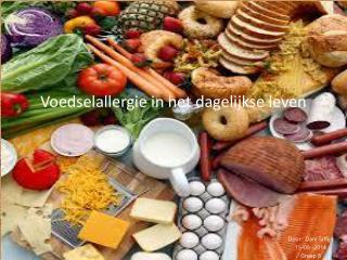 Voedselallergie in het dagelijkse leven