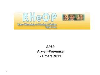 APSP Aix-en-Provence  21 mars 2011