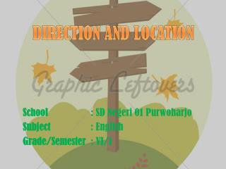 School : SD  Negeri  01  Purwoharjo Subject : English Grade/Semester : VI/1