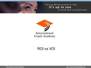 ROI vs VOI