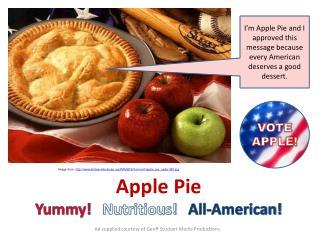 Image from:  statesymbolsusa/IMAGES/Vermont/apple_pie_usda-380.jpg